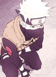 Naruto Challenge Day 01: Favourite Male Character - Kakashi Hatake <3. My 1 fav crush<3