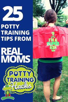 Your best resource for potty training tips and tricks - and clever ideas - will always be the parents who have already been through the process.