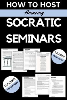 I compiled this free document after working with teachers who struggled with making Socratic Seminar meaningful for their students. #socraticseminar #highschoolenglish