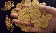 "Treasure from 1715 Flagship ""Capitana"" Found"