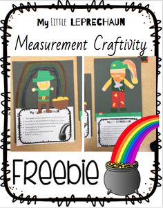 End your measurement unit with this fun and educational craftivity. This craft works for both, customary and metric units of measurements. I hope you and your class enjoy! My class sure did!