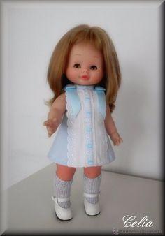 Mary loli Mariloli Vestido para muñeca de famosa