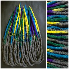 #dreads #dreadlocks #boho #hippie #ozora #hairstyle #wool #roving