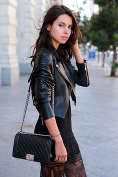 lace & leather