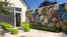 Moderne Gartengestaltung / Exklusives Gartendesign: Terrassengestaltung Mit  Design Gartenmöbel #design #architektur #