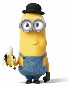 comiendo bananas - Buscar con Google Minion Words, Minions Love, Minions 2014, Minion Stuff, Banana Beach, Yellow Guy, Disney Headbands, Eating Bananas, Minion Pictures