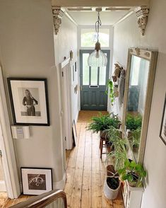 I've been busy today preparing notes and slides for next weekend to September! I'll be doing 2 talks and… Victorian Terrace Hallway, Edwardian Hallway, Victorian Living Room, Victorian Homes, Flur Design, Hallway Designs, Hallway Ideas, Dream Apartment, House Entrance