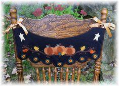 De calabazas Penny alfombra silla Swag con la por pennylaneprims