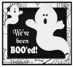 You've Been Boo-ed!
