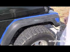 How To: Paint Fender Flares on a 1997 - 2006 Jeep Wrangler TJ - GetJeeping - YouTube