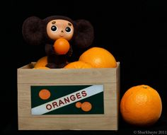 March 25, 2011-This is Cheburashka. The character comes from Eduard Uspensky's…