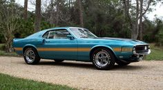 1970 Mustang Shelby GT 350