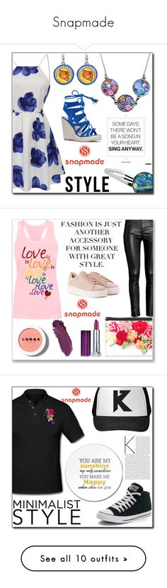 Snapmade by semiragoletic ❤ liked on Polyvore featuring Maybelline, LORAC, HM, Rampage, Converse, mens fashion, menswear, Boohoo, Chanel and Zanerobe