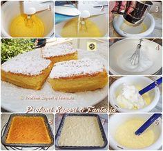 Torta morbida e cremosa ricetta golosa ----500 ml di latte intero tiepido* 125 g di burro fuso e freddo* 115 g di farina 00* 4 uova medie intere* 1 cucchiaio di acqua* 150 g di zucchero semolato* 1 bustina di vanillina* 1 pizzico di sale* zucchero a velo per decorare*