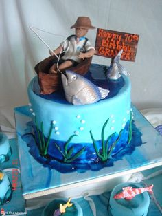 Fishing  Cebu Cakes At Cake Couture By Trina cakepins.com