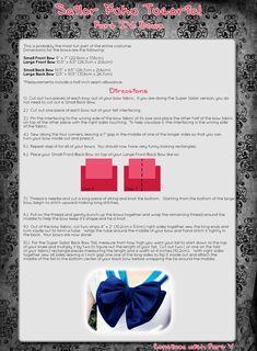 Sailor Fuku Tutorial Part IV by EuphoriaLuandestil.deviantart.com on @deviantART