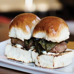 The Lamb Sliders at La Belle Vie give you two rounds of mint yogurt-and-pepper covered deliciousness for the price of one. These are the Best Sliders, and now they're playing with the big boys. Give them some support: http://mspmag.com/Contests-And-Promotions/Burger-Madness!/
