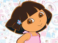 Cuties Parties: Dora Superstyle Printable Birthday Party Kit
