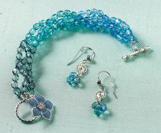 Martha Stewart Crafts® Beaded Ombre Bracelet