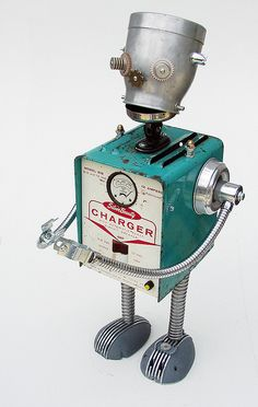 charger the robot | Flickr - Photo Sharing!