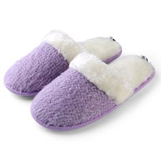 knitting texture Womens Warm And Soft Sunrise Woven Plush Slippers with No-Slip Rubber Sole For Indoor, Outdoor, Spa Use (Purple) Purple Slippers, Winter Slippers, Fuzzy Slippers, Rubber Texture, Purple Outfits, Knitting Blogs, How To Make Bed, Womens Slippers, Diy Clothes