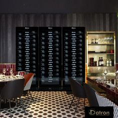 Wine Refrigerator, Wine Fridge, White Led Lights, Black Doors, Metal Shelves, Fine Wine, Double Doors, Wine Drinks, Innovation Design