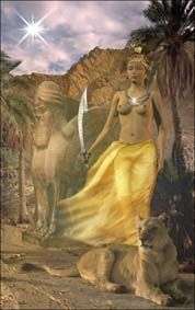 goddess Ishtar | Now linger not, but come, O goddess fair