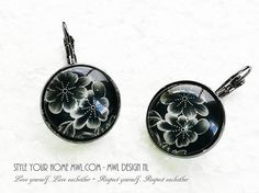 Washer Necklace, Jewelery, Jewelry Design, Etsy Shop, Earrings, Shopping, Black, Style, Jewelry