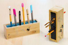 Pen Zen | 25 Ways to Keep Your Workspace Organized