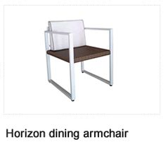 Horizon Ding Chair. Patio Furniture. Outdoor Furniture, Aluminum.