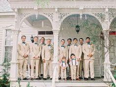 khaki + teal | Amy Arrington #wedding