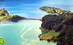 Lagoa das Sete Cidades, Ilha de São Miguel, Açores.
