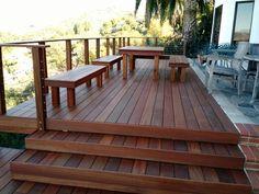 Taylor Made Construction. Kayu Deck Project.
