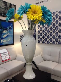 An over-sized vase is sure to make a big statement in your home. | Houston TX | Gallery Furniture |