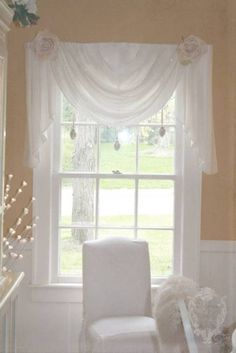 shabby chic window coverings | Shabby Chic Window Treatment Ideas | Unamaz.org