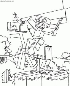 steve de minecraft para imprimir y pintar printable coloring pages unicorn coloring pages printable