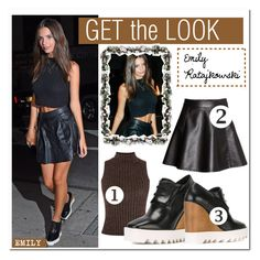 """GET THE LOOK"" by zafirahx ❤ liked on Polyvore"