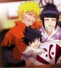 Naruto - Naruto Uzumaki x Hinata Hyuuga - NaruHina Anime Naruto, Anime Manga, Uzumaki Family, Naruto Family, Naruto Gaiden, Naruto Uzumaki, Boruto, Kakashi, Shikatema