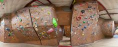 Stone Gardens Seattle WA the Realm north bouldering wall