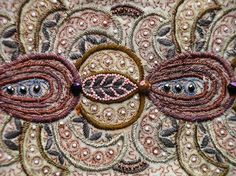 Embroidery and beads...via havinghorns: