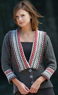Yippee, the first Fall oriented pattern of mine has just come out in the new Knitter's Magazine issue and it's called Jubilee ! Knitting Paterns, Knitting Stitches, Knit Patterns, Cascade Yarn, Fair Isle Knitting, Knit Cardigan, Winter Outfits, Knit Crochet, My Design