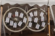 Alveston Pastures Farm Wedding with a Magical Summer Marquee Bicycle Wedding, Farm Wedding, Wedding Table, Rustic Wedding, Bike Decorations, Wedding Decorations, Tire Table, Wedding Designs, Wedding Ideas