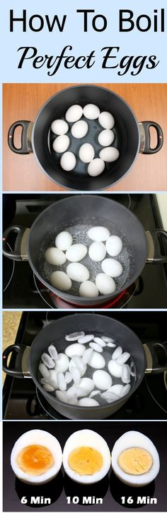 "Have you ever boiled eggs and discovered that they weren't ""pretty"" once you peeled them? What about nicking off half the egg because you couldn't get the shell off?   You can watch this 1 minute video on how to make easy to peel hard boiled eggs or read the step by step directions below."