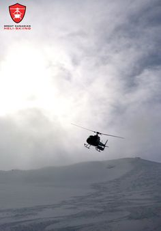 We use the ultimate heli-skiing machine, the A-Star B2