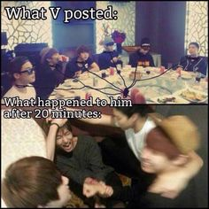 Bts| V and his slaves