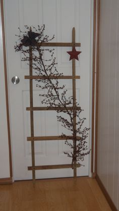 Tobacco Stick Ladder. $40.00, via Etsy.