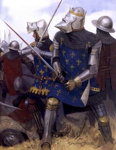 Graham Turner - Bataille de Poitiers