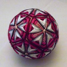 Japanese Temari Ball by BethsTemariBalls on Etsy https://www.etsy.com/listing/553293509/japanese-temari-ball