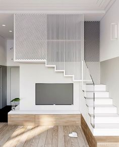 How to choose and buy a new and modern staircase – Modern Home Stair Railing Design, Home Stairs Design, Interior Stairs, Modern House Design, Home Interior Design, Interior Architecture, Railings, Modern Stairs, House Stairs