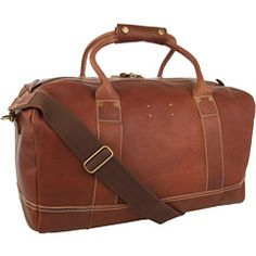Cole Haan Hermitage leather duffle